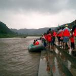 ビーチマット漂流旅行