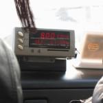 中国のタクシーのメーター