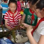 粽(ちまき)作り