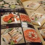日本料理店「水上(みなかみ)」のメニュー