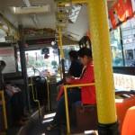 中国瀋陽の公共バス