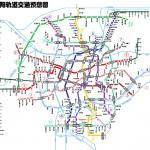 瀋陽地下鉄路線予想図