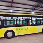 瀋陽の新型バス追加導入!